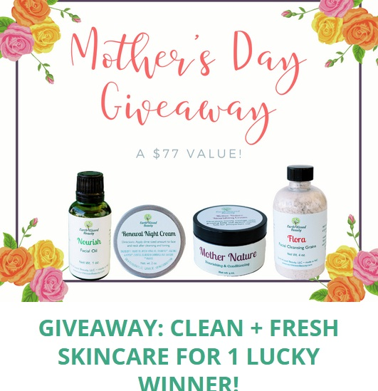 Earth-Kissed Beauty Mothers Day Giveaway