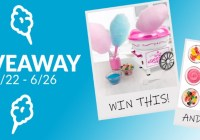 Nostalgia Cotton Candy Maker And Cotton Candy Giveaway