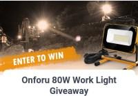 ONFORU Onforu 80W Work Light Giveaway
