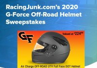 RacingJunk.com G-Force Off-Road Helmet Sweepstakes