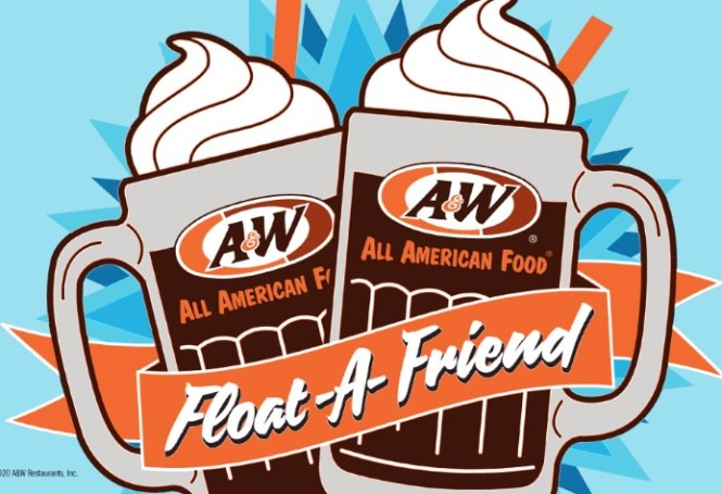 A And W Restaurants Float-A-Friend Sweepstakes