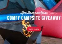 Duraflame Comfy Campsite Giveaway