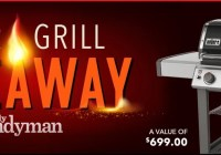 Family Handyman Grill Giveaway