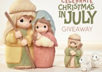 Precious Moments Celebrate Christmas In July Giveaway