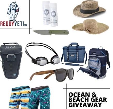 ReddyYeti.com Beach And Ocean Gear Giveaway