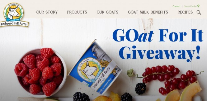Redwood Hil Farms Goat For It Giveaway