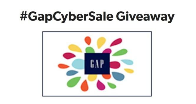 Savings.com GapCyberSale Giveaway