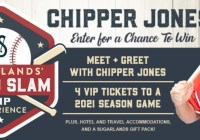 Sugarlands Grand Slam VIP Experience Sweepstakes