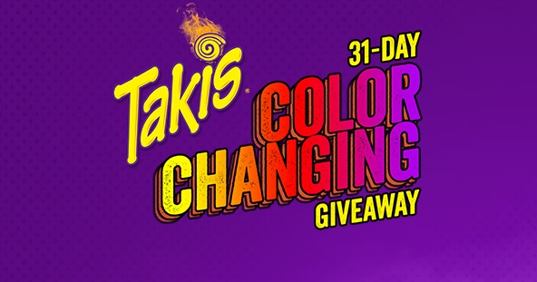 Takis Color Changing Giveaway Sweepstakes