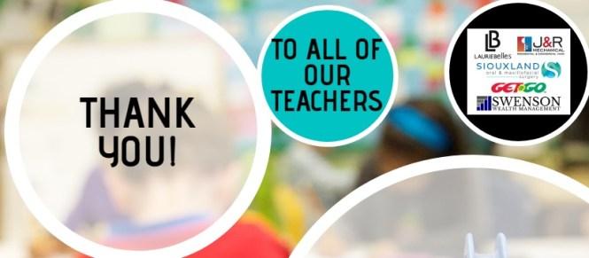 Teacher Appreciation Sweepstakes