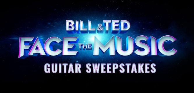 Bill And Ted Face The Music Guitar Sweepstakes