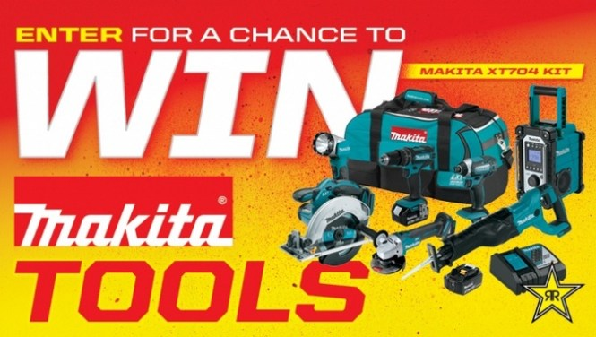 Rockstar And Condon Oil Makita Sweepstakes