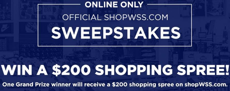 Eurostar Shopwss.com Sweepstakes