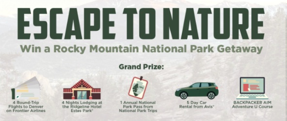 Frontier Airlines Rocky Mountain National Park Getaway Sweepstakes