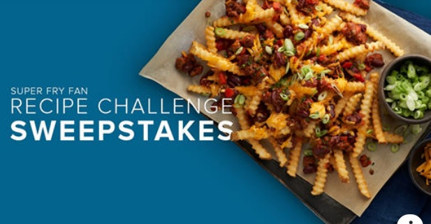 Grown In Idaho Super Fry Fan Recipe Challenge Sweepstakes