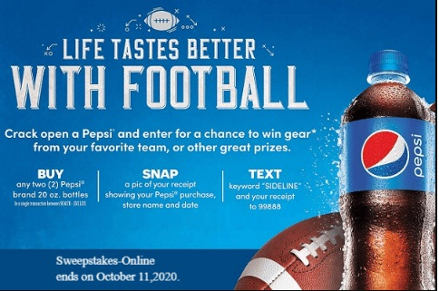PepsiCo Pepsi Free Gift Cards Giveaway