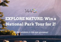 1440 Media National Park Tour Sweepstakes