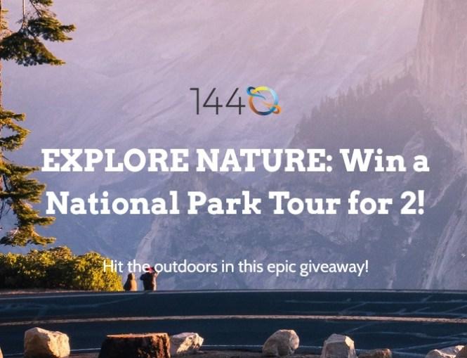 1440 Media National Park Tour Sweepstakes