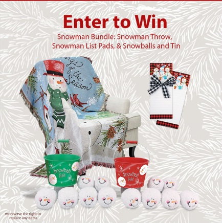 Current Catalog Snowman Bundle Giveaway