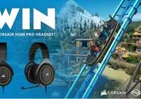 Frontier Developments Plc Corsair HS60 PRO SURROUND Gaming Headset Giveaway