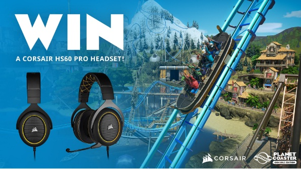 Frontier Developments Plc Corsair HS60 PRO SURROUND Gaming Headset Giveaway