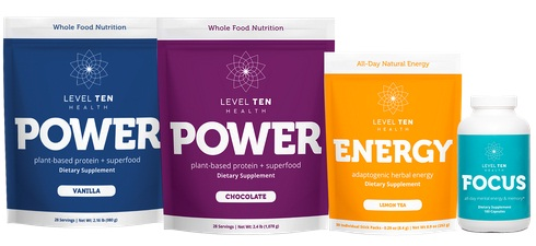Level Ten Health Level Up Your Life Giveaway