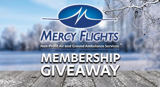 Mail Tribune Mercy Flights Membership Giveaway