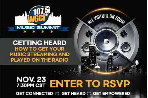 RSVP For WGCI Music Summit Pannel Sweepstakes