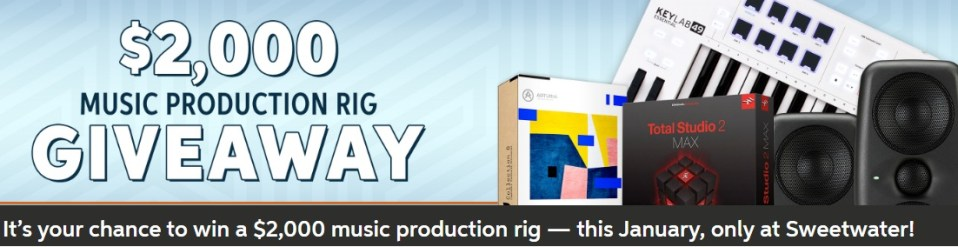 Sweetwater Sound, Inc. Sweetwater Holiday Giveaway