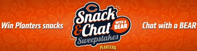 The Chicago Bears Football Club Chicago Bears Snack And Chat Sweepstakes