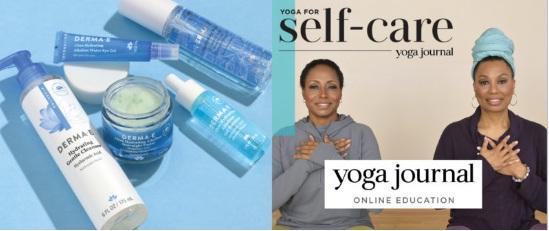 Yoga Journal DERMA E Live Be Yoga Sweepstakes