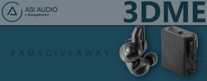 American Musical Supply ASI Audio In-Ears Giveaway