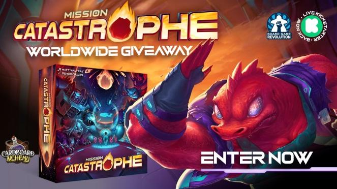 Board Game Revolution Mission Catastrophe Giveaway