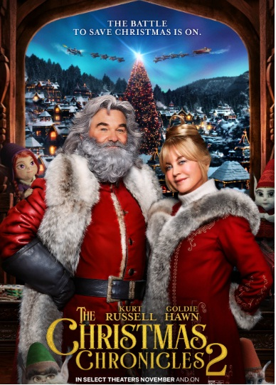Brief Take, The Christmas Chronicles Part Two Prize Pack Giveaway