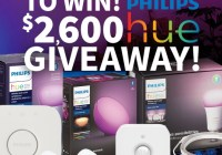 Doitbest $2,600 Philips Hue Giveaway