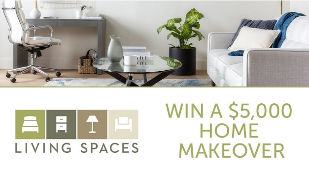 Find Kellie At Living Spaces $5000 Photo Sweepstakes