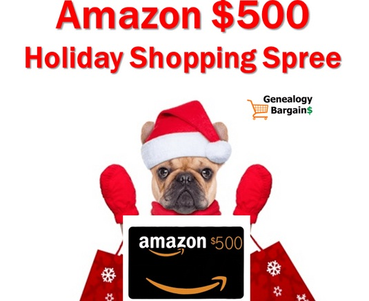 Genealogy Bargains Black Friday Giveaway