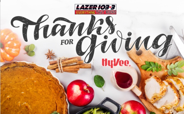 LAZER 103.3 Thanks For Giving Contest