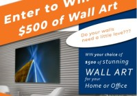 MZ Image Arts, Inc PhotoArt Wall Art Giveaway