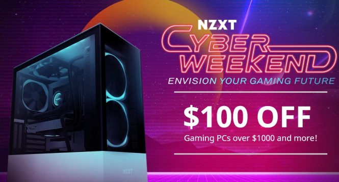 NZXT X 100 Thieves Black Friday Giveaway