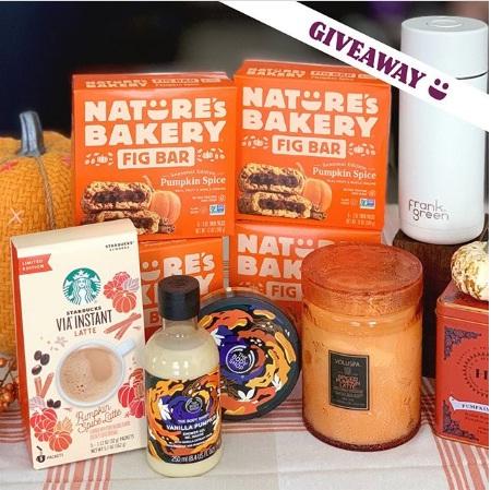 Nature Bakery, Pumpkin Spice Bundle Giveaway