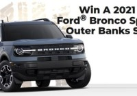 PCH 2021 Ford Bronco Sweepstakes - Enter To Win A Brand New SUV
