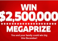 PCH $2,500,000 Megaprize Sweepstakes