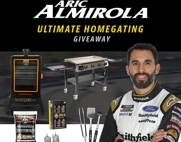 Pit Boss Aric Almirola Giveaway