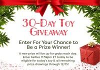 Red Tricycle 30-Day Toy Giveaway