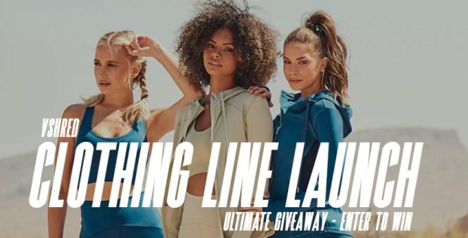 V Shred, LLC Vshred Clothing Line Launch Sweepstakes