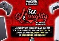 IHeartMedia Woody Show Nice And Naughty Holiday Giveaway