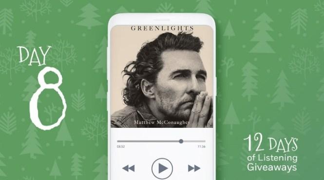 PRHAudio 12 Days Of Listening Giveaway