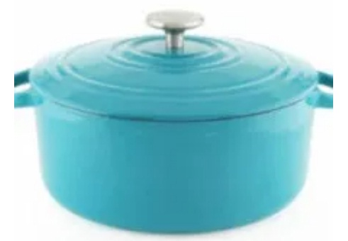 Riverbend Home Enameled Cast Iron 5-Quart Round Dutch Oven Giveaway