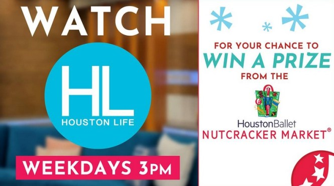 SECOND CHANCE Houston Ballet Nutcracker Market Daily Giveaway